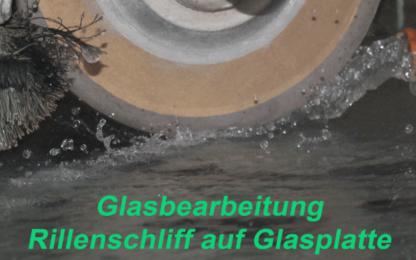 Glas Rillenschliff