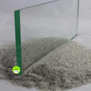 Glas 15mm Schnittkante