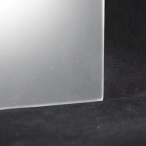 Satiniertes Glas