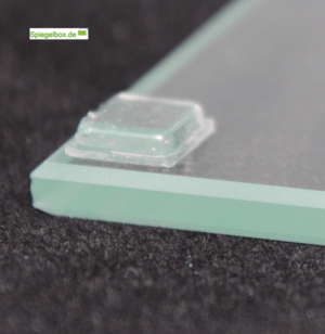 Elastikpuffer transparent 10x10mm