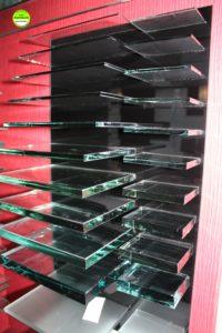 Glas Wiwianka Muster Glasdicken