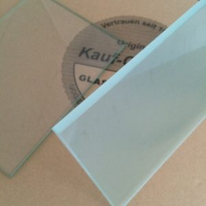 Satiniertes Glas 8mm