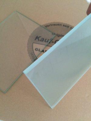 Satiniertes Glas 8mm Milchglas