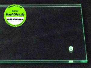 Glas Wiwianka Marienfeld Glasbohrung in Flachglas 8mm