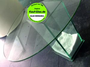 Glasplatten Oval bestellen