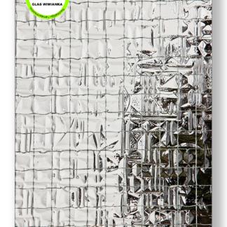 Drahtoranmentglas Abstrco 187 weiß 8mm