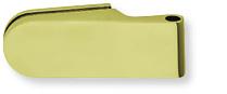 Glastürband-2-teilig-Messing-poliert