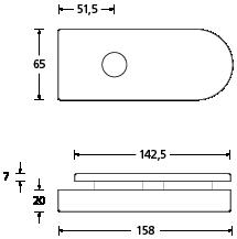 Glastürschloss-Format-A-Skizze